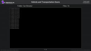 Vehicle and Transportation Doors - Contents Screenshot 07