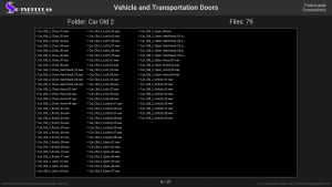 Vehicle and Transportation Doors - Contents Screenshot 09