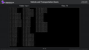 Vehicle and Transportation Doors - Contents Screenshot 19