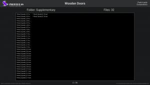 Wooden Doors - Contents Screenshot 02
