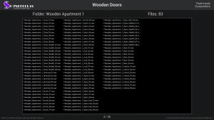 Wooden Doors - Contents Screenshot 03