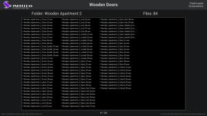 Wooden Doors - Contents Screenshot 04