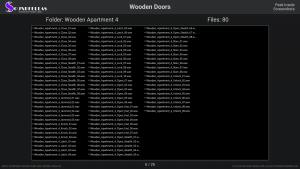 Wooden Doors - Contents Screenshot 06