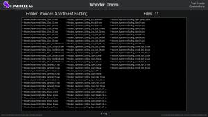 Wooden Doors - Contents Screenshot 07