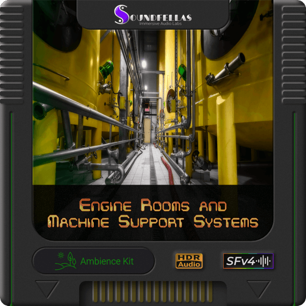 Image of engine rooms and machine support systems cartridge 600h.