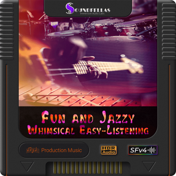 Image of fun and jazzy whimsical easy listening cartridge 600h.