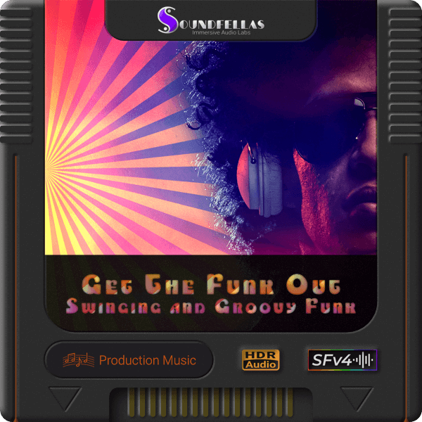 Image of get the funk out swinging and groovy funk cartridge 600h.