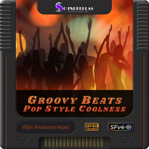 Image of groovy beats pop style coolness cartridge 600h.