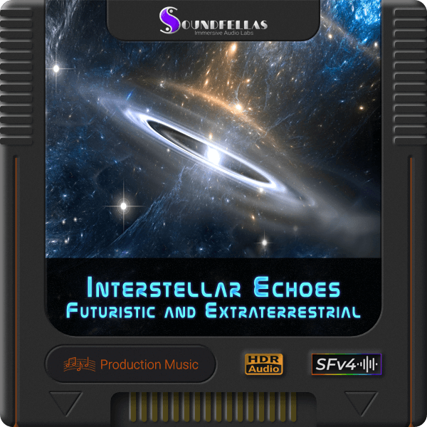 Image of interstellar echoes futuristic and extraterrestrial cartridge 600h.
