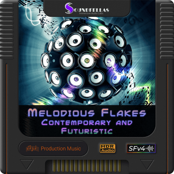 Image of melodious flakes contemporary and futuristic cartridge 600h.