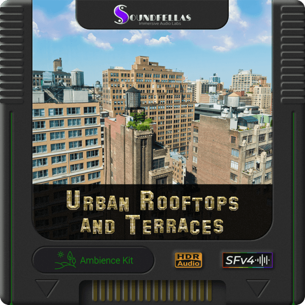 Image of urban rooftops and terraces cartridge 600h.