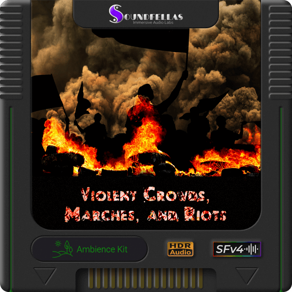Image of violent crowds marches and riots cartridge 600h.